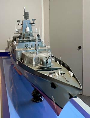 Marineforum - Modell der KOLKATA (Foto: hans Karr)