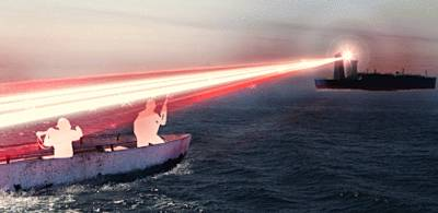Marineforum - Laserwaffe (Grafik: BAe Systems)