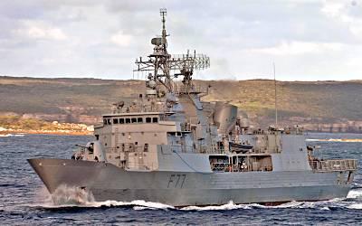 Marineforum - neuseeländische ANZAC-Fregatte (Foto: austr. Marine)