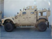 U.S. Army Medical Materiel Development Activity helped to develop this mine-resistant, ambush-protected, all-terrain-vehicle ambulance specifically for Afghanistan's terrain, as well as a kit that converts any M-ATV for casualty evacuation