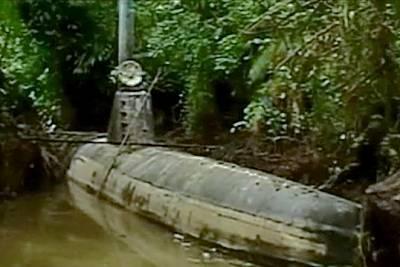 Marineforum - Erstes wirkliches  U-Boot für Drogenschmuggler (Foto: offz)