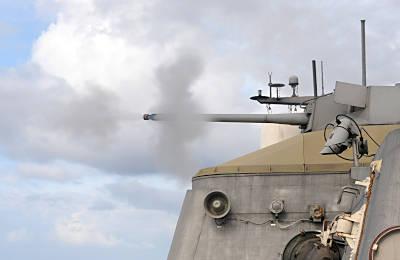30-mm gehört zum SUW Modul (Foto: US Navy)