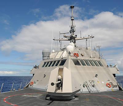 57-mm Schiffsgeschütz ist Standard (Foto: US Navy)