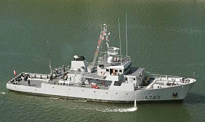 Marineforum - Schulboot der LEOPARD-Klasse (Foto: Michael Nitz)