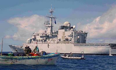 Marineforum - NIVOSE stellt Whaler (Foto EU NavFor)