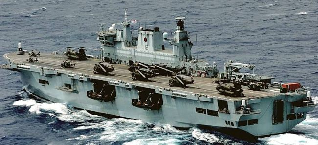 Marineforum - OCEAN (Foto: Royal Navy)