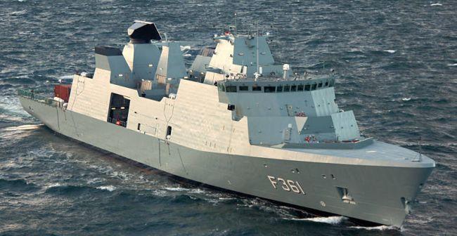 IVER HUITFELDT (noch ohne APAR Radar) (Foto: dän. Marine)