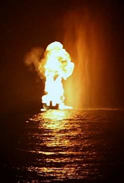 Marineforum - CANARIAS versenkt Skiff (Foto: EU NavFor)