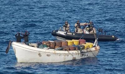 Marineforum - INFANTA ELENA stellt Wahler (Foto: EU NavFor)