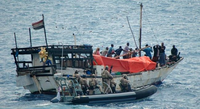 Marineforum - Boarding der AL SHAHAR 75 (Foto: austr. Marine)