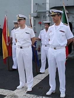 Marineforum - Kommandowechsel in Dschibuti (Foto: EU NavFor)