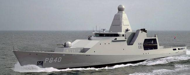 Marineforum - HOLLAND (Grafik: Damen-Schelde)