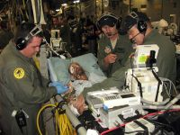National Guard critical-care air transport team