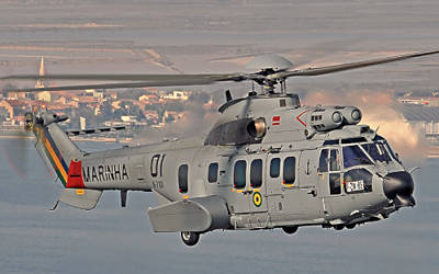 Marineforum - UH-15 Super Puma (Foto: Eurocopter)