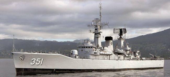 Marineforum - Indonesische Fregatte der VAN SPEIJK-Klasse (Foto: Michael Nitz)