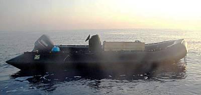 Marineforum - RHIB mit Sprengstoffkiste (Foto: NATO)