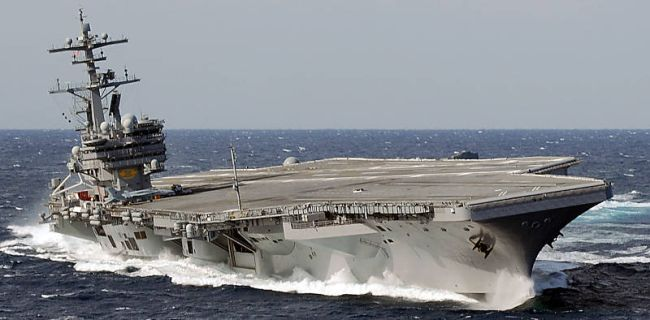 Marineforum - CVN 77 GEORGE H.W. BUSH (Foto: US Navy)