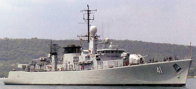 Marineforum - Bulgarische Fregatte DRAZKI (Foto: spanische Marine)