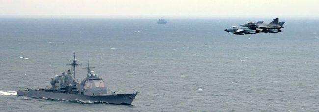 Marineforum - Seephase 1 (Foto: schwedische Marine)