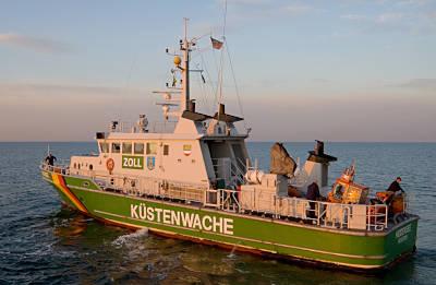 Küstenwache vor Prerow (Foto: BMI)
