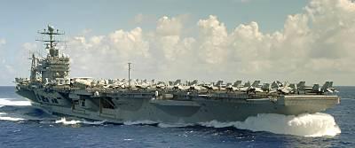 Marineforum - Flugzeugträger ABRAHAM LINCOLN (Foto: US Navy)
