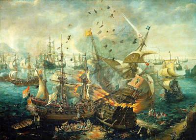 Seeschlacht vor Gibraltar 1607 (Wikipedia)