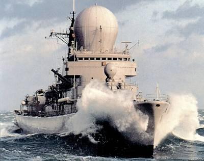 Flugabwehrzerstörer TROMP (Foto: niederl. Marine)