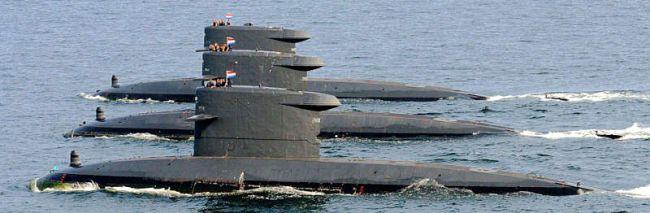 U-Boote der WALRUS-Klasse (Foto: niederl. Marine)