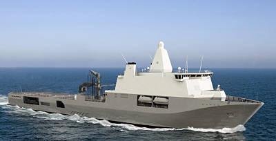 Logistic Support Ship (Grafik: MODNL)