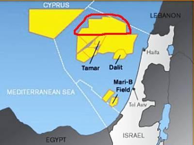 Marineforum - Israelische Ansprüche (Karte: nn / Internet)