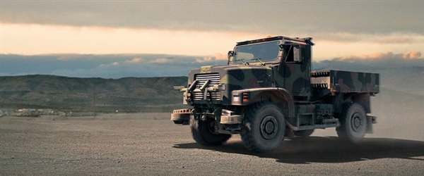 Oshkosh TerraMax autonomous vehicle