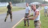 U.S. Marine Officer Candidate School at Quantico Marine Corps Base, Va.