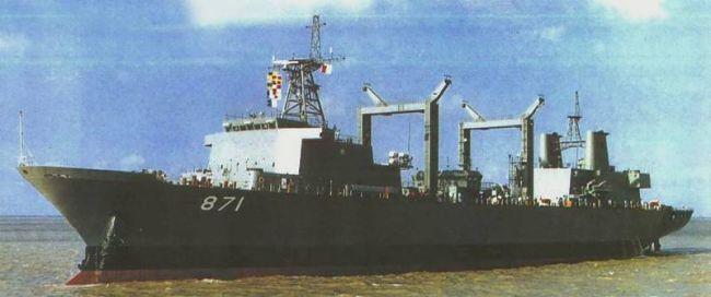 Marineforum - thailändischer Versorger SIMILAN (Foto: china-defense.com)