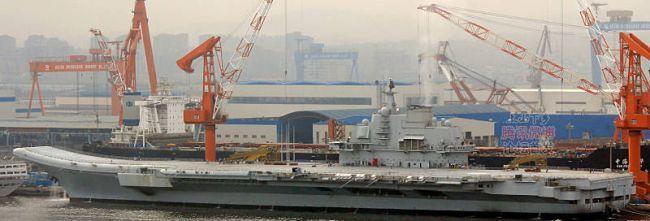 Marineforum - Einige Tage vor dem Auslaufen (Foto: china-defense.com)