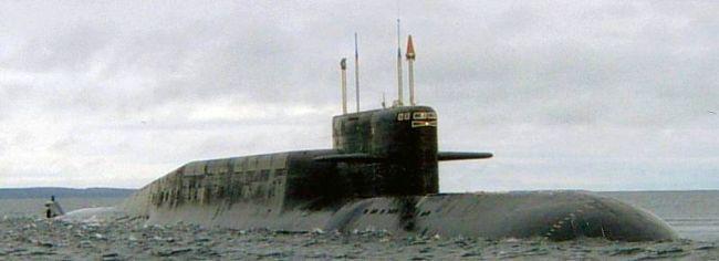 Marineforum - Strategisches U-Boot der DELTA-IV-Klasse (Foto: russ. Marine)