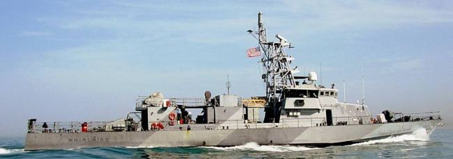 Marineforum - Boot der CYCLONE-Klasse (Foto US Navy)