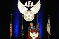 Air Force Association's 2011 Air and Space Conference and Technology Exposition at National Harbor, Md.