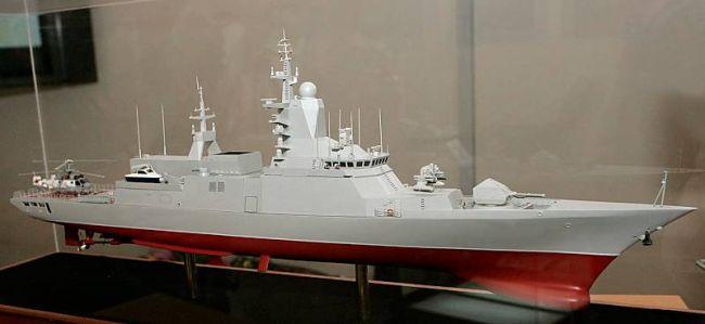 Marineforum - Modell der TIGR-Klasse (Foto: Michael Nitz)