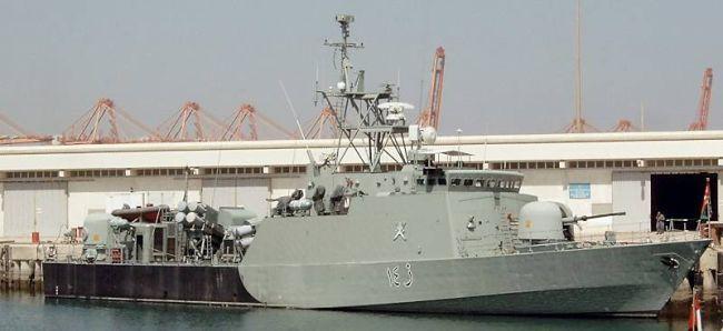 Marineforum - Omanisches FK-Schnellboot der PROVINCE-Klasse (Foto: Deutsche Marine)