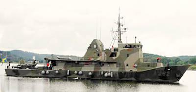 Marineforum - die frühere SKREDSVIK (Foto: schwed. Marine)