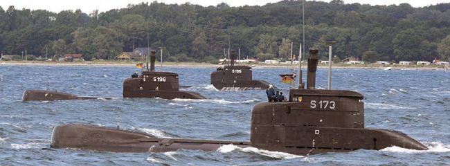 Deutsche U-Boote Typ 206A (Foto: Michael Nitz)