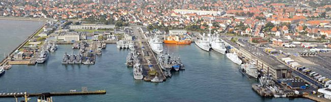 Marineforum - NOCO-11 Teilnehmer treffen sich in Frederikshavn (Foto: Danish Air Force)