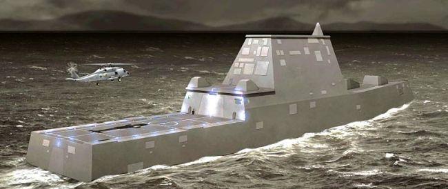 Marineforum - DDG-1000 ZUMWALT (Grafik: US Navy)