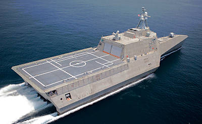 LCS-2 INDEPENDENCE (Foto: US Navy/GD/Austal)