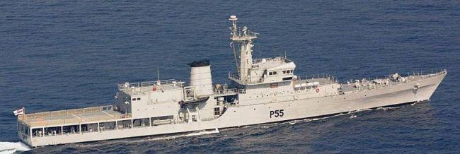 Marineforum - Indisches Wachschiff der SUKANYA-Klasse (Foto: Brarat-Rakshak)