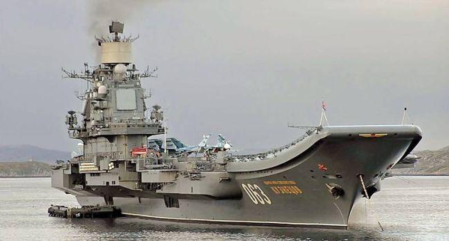 Marineforum - ADMIRAL KUZNETSOV (Foto: russ. Marine)