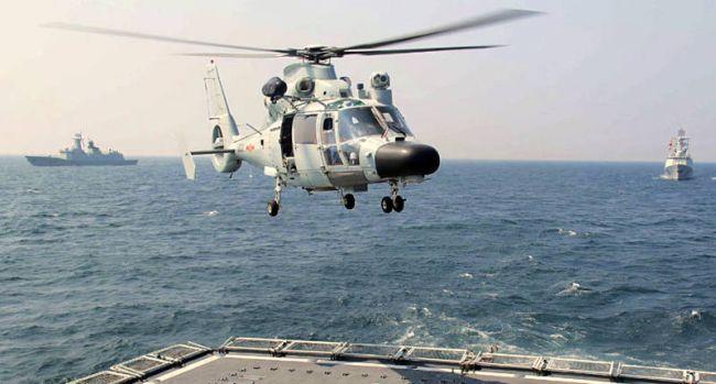 Marineforum - Chinesen üben im Golf von Aden (Foto: offz)