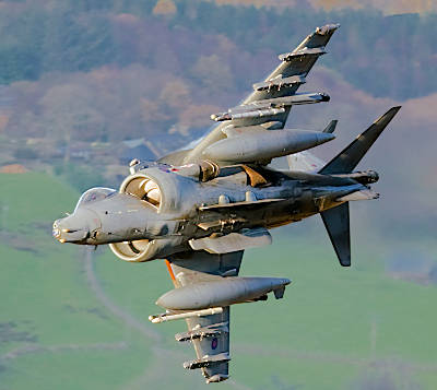Marineforum - Britischer Harrier GR 9 (Foto: BAe Systems)