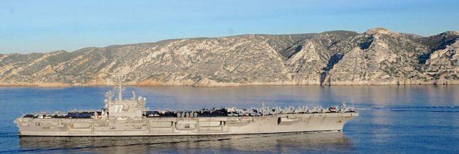 Marineforum - GEORGE BUSH vor der südfranzösischen Küste (Foto: US Navy)