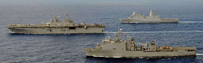 Marineforum - Amphibious Ready Group (Foto: US Navy)